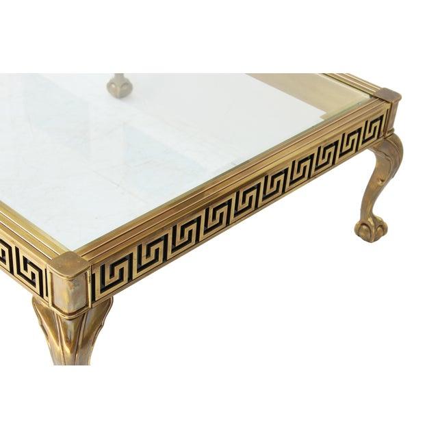 Mastercraft Vintage Greek Key Brass Coffee Table Chairish