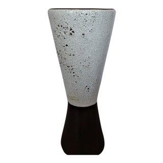 Danish Modern Volcanic Glaze Vase