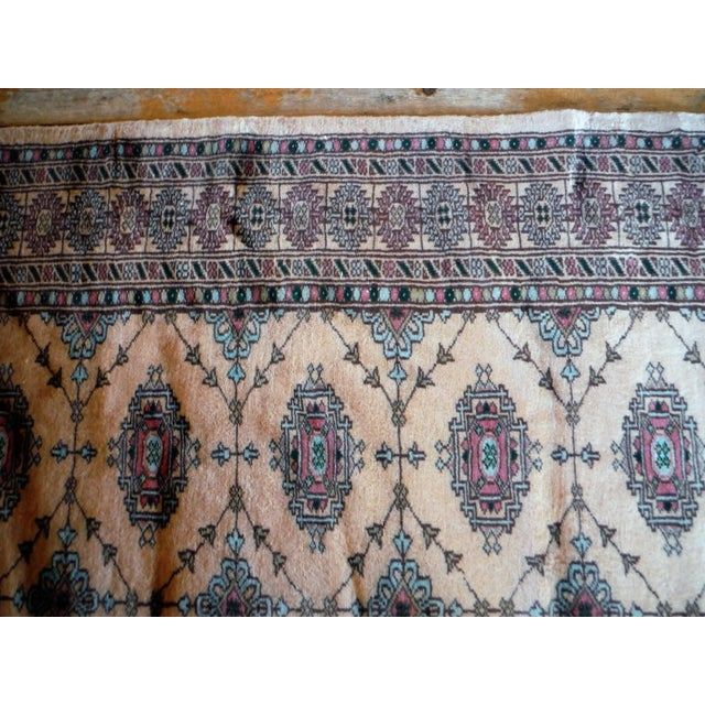 Image of Knotted Persian Oriental Rug - 3′5″ × 8′2″