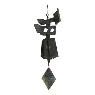 Paolo Soleri Sand Cast Bronze and Aluminum Bell
