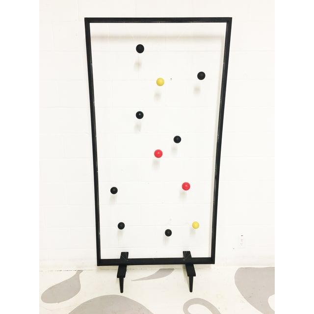 Mid-Century Modern Style Screen Room Divider - Image 3 of 7