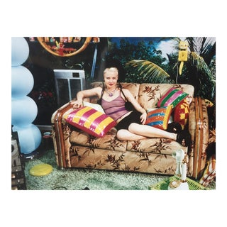 Girl with Inflatable Pillows