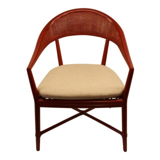 McGuire White Mallorca Chair