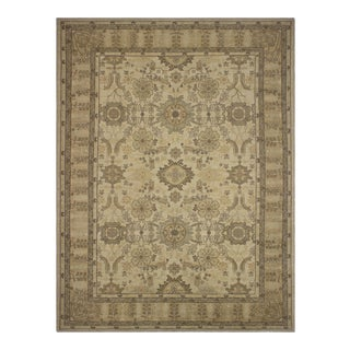 "Kafkaz Sun-Faded Arielle Tan/Brown Wool Rug - 9'4"" X 12'6"""