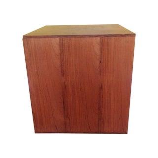 Milo Baughman Mid-Century Modern Rosewood Cube