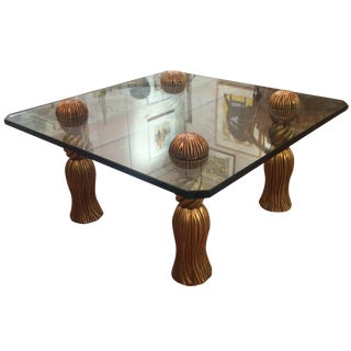 Phyllis Morris Tassel Cocktail Table