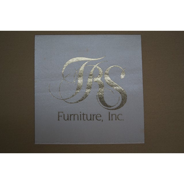 Image of TRS Furniture Turned Leg Club Chairs - A Pair