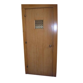 Oak Chapel Door With Knuckle Hinges