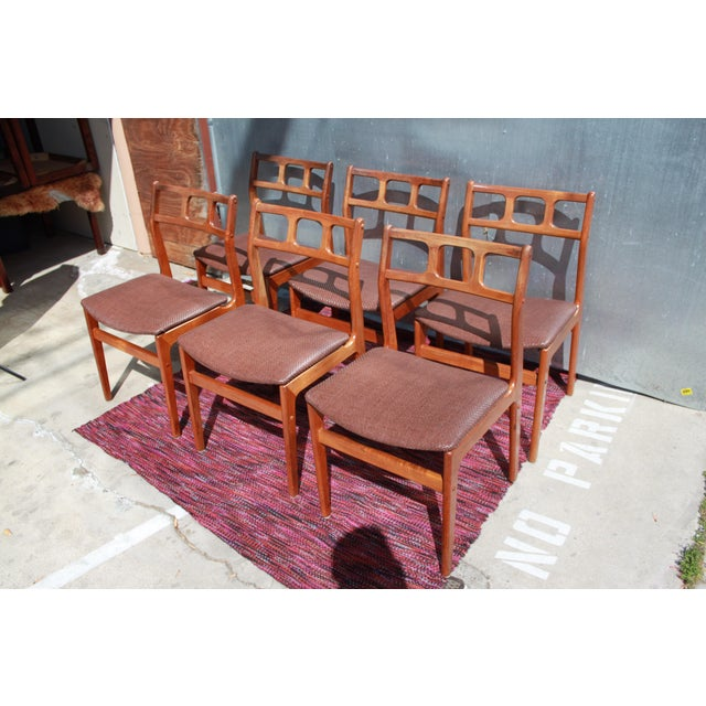 1960s D-Scan Teak Dining Chairs - Image 2 of 9