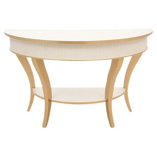 Demilune Gueridon Table
