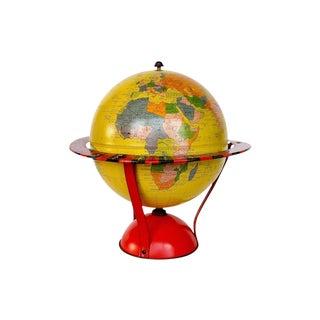 Vintage Globe - Replogle Spinner Game Globe