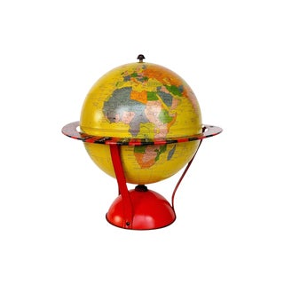 Vintage Globe - Replogle Spinner Game Globe