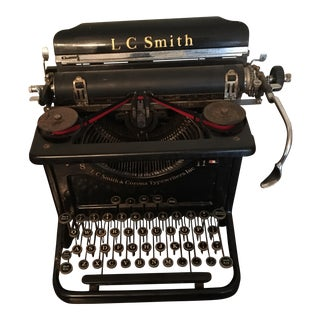 Antique L.C. Smith Typewriter