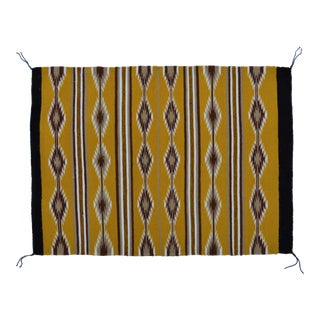 Native American Navajo Indian Chinle Wool Rug - 2′2″ × 3′