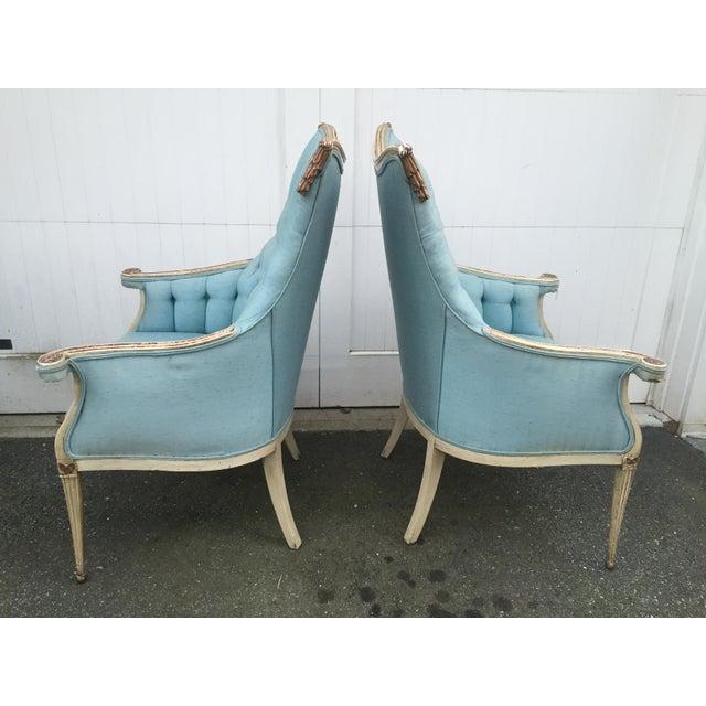 Hollywood Regency Grosfeld House Armchairs - A Pair - Image 3 of 11