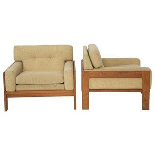 Bramin Teak Lounge Chairs - A Pair