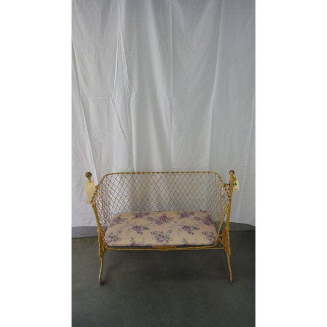 Antique Cradle Bench - Image 2 of 5