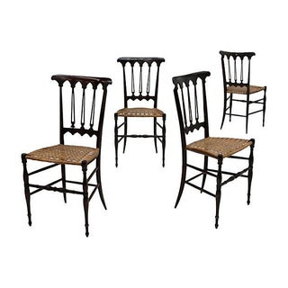 Italian Chiavari Dining Chairs - Set of 4