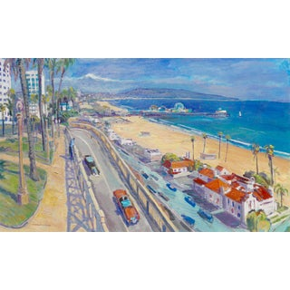 """Santa Monica Incline"" Original Painting"