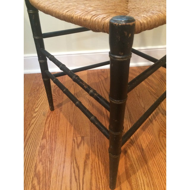 Image of 1880s Faux Bamboo Chair