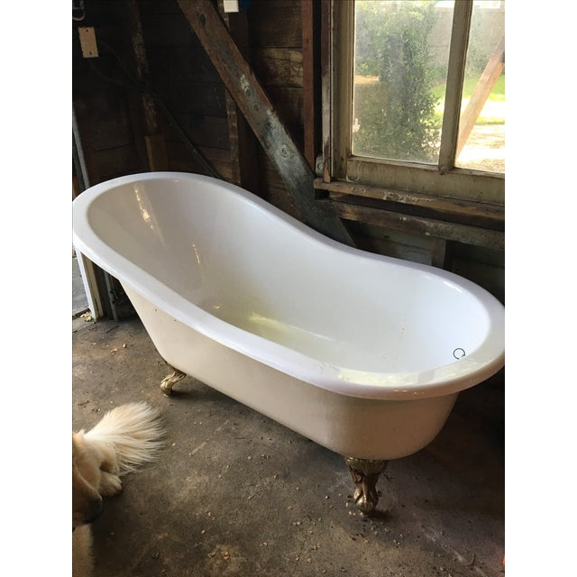 Antique Footed Tub - Image 2 of 5