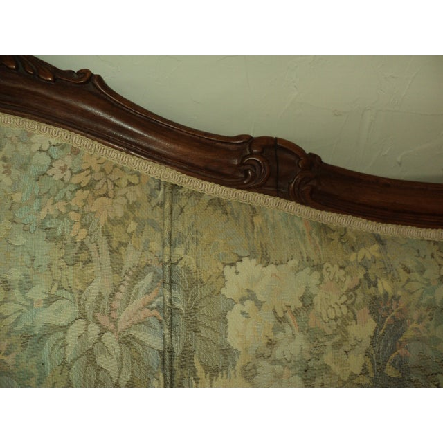 Antique French Provincial Sofa & Chair - A Pair - Image 6 of 11