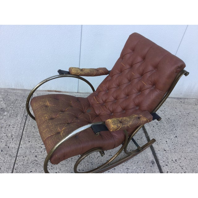 1960's Lee Woodard and Sons Rocking Chair - Image 7 of 11