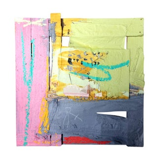 John Olympio Mixed Media Assemblage Painting