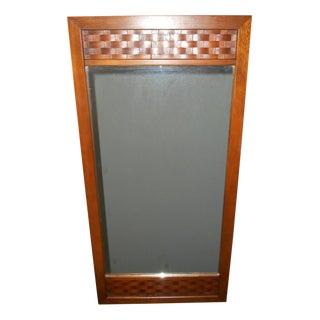 Mid Century Danish Lane Walnut Mirror