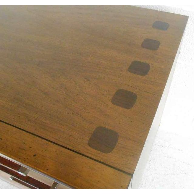Mid-Century Modern American Walnut Dresser - Image 7 of 8