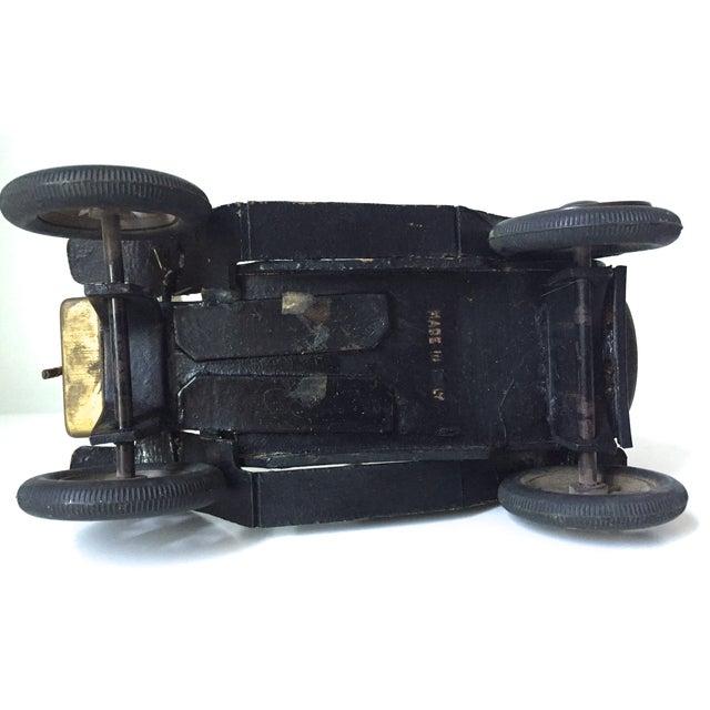 Lancia 1910 Leather Car Model - Image 5 of 5