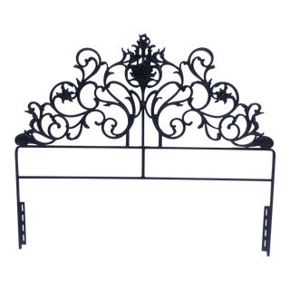 Vintage Iron Full Size Headboard