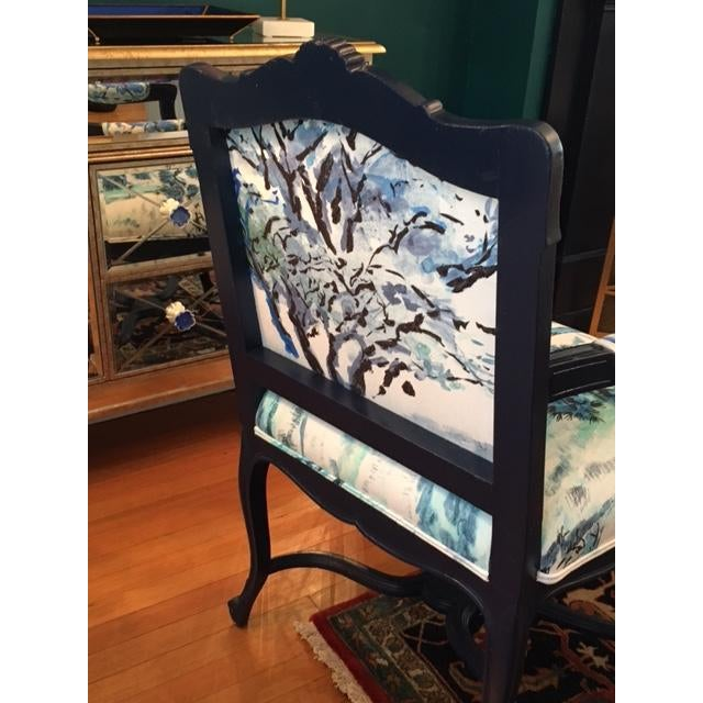 French Louis XV Style Padded Arm Chair - Image 3 of 3