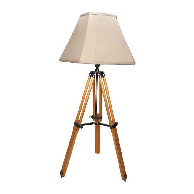 Vintage Adjustable Tri-Pod Lamp - Image 1 of 6