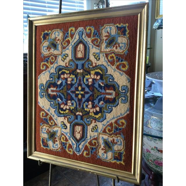 Vintage Needlework Embroidery - Image 5 of 6