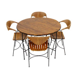 1950's Arthur Umanoff for Raymor Mid Century Dining Set - Set of 5
