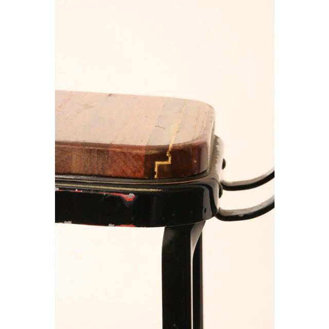 Vintage Lyon Industrial Metal Drafting Stool   Chairish