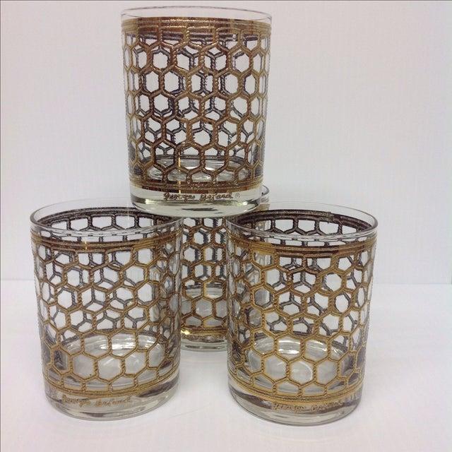 Georges Briard Mid-Century Glasses - Set of 4 - Image 2 of 5