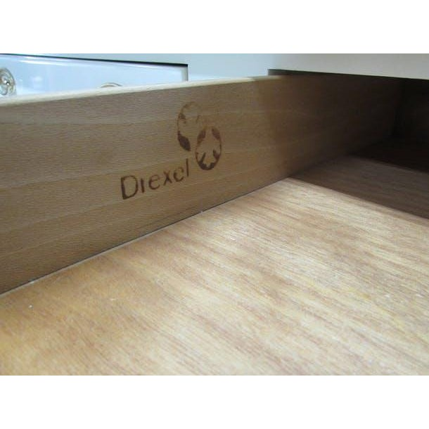 Drexel Lacquered 2-Drawer Desk - Image 5 of 7