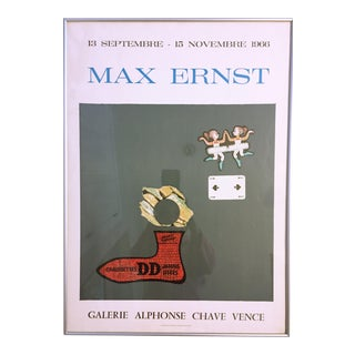 Max Ernst Mourlot Lithographic Poster