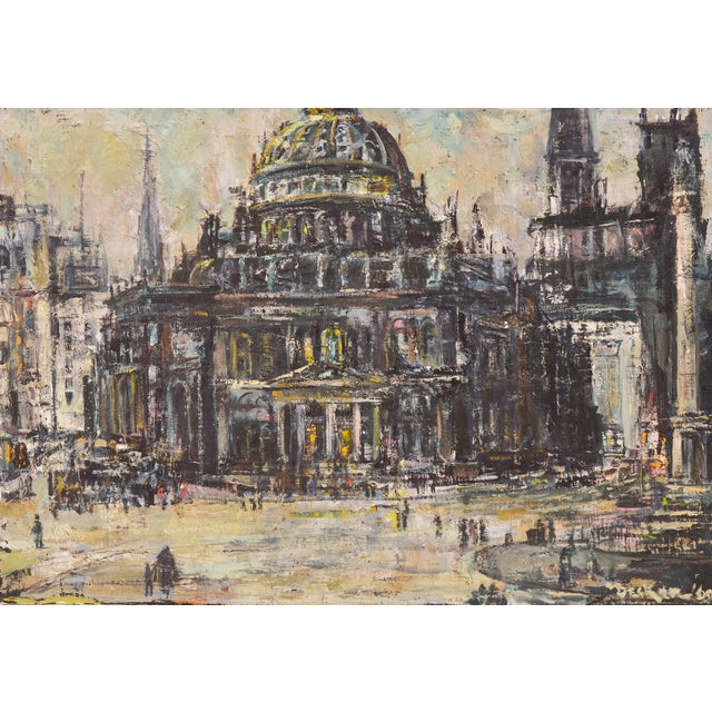 Edwin Becker Paris Opera Impressionist Painting - Image 2 of 9
