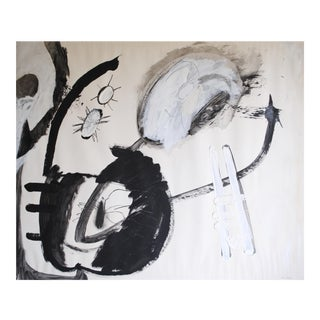 1963 Abstract Painting by Selma Moskowitz