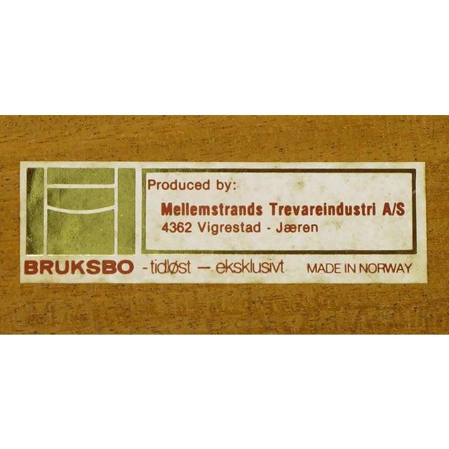 """Image of Torbjorn Afdal for Bruksbo Norway Teak """"Korbo"""" Bench"""