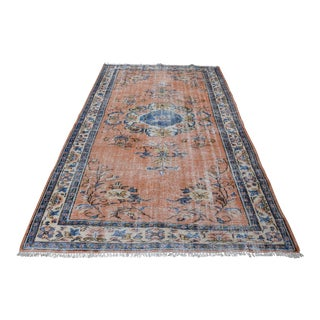 Floral Turkish Rug - 5′3″ × 8′11″