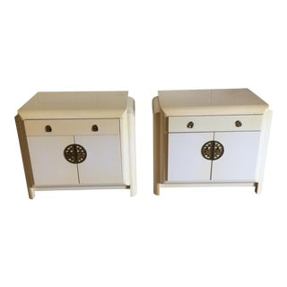 Romweber Asian Style Nightstands - A Pair