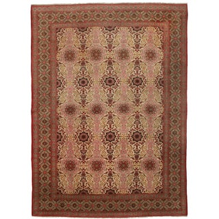 Fine Antique Persian Kashan - 8′11″ × 12′4″