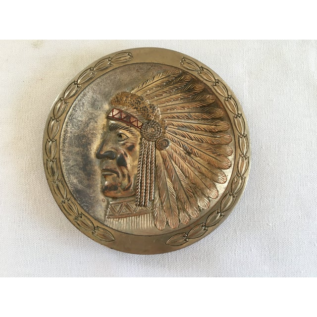 Copper Indian Chief Minitray - Image 5 of 5