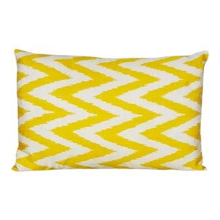 Silk Atlas Ikat Pillow