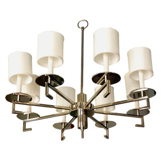 Paul Marra Design Greek Key Chandelier