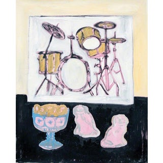 Anne-Louise Ewen Still Life With Picture Of Drumkit